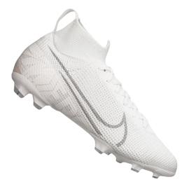 Buty piłkarskie Nike Superfly 7 Elite Fg Jr AT8034-100 biały białe