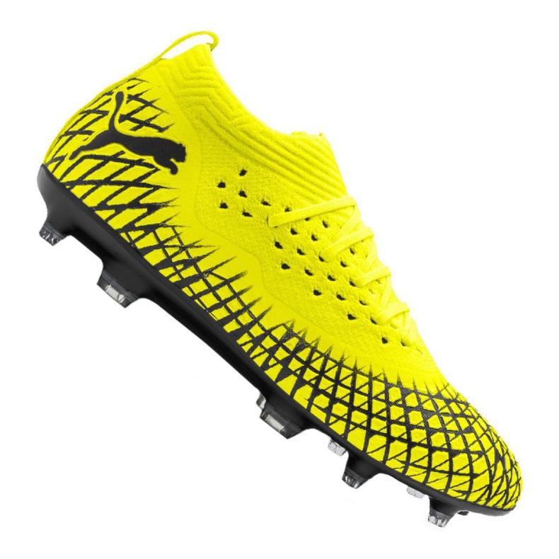 Buty piłkarskie Puma Future 4.2 Netfit Fg / Ag M 105611-03 żółte żółte