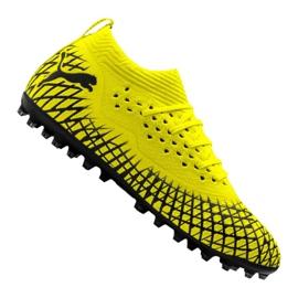 Buty piłkarskie Puma Future 4.2 Netfit Mg M 105681-02 żółty żółte