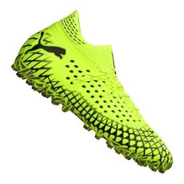 Buty piłkarskie Puma Future 4.1 Netfit Mg M 105678-03 żółty żółte