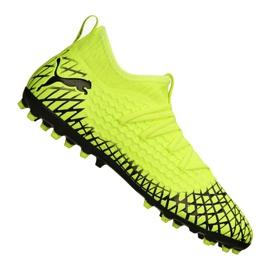 Buty piłkarskie Puma Future 4.3 Netfit Mg M 105684-03 żółte żółty