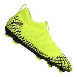 Buty piłkarskie Puma Future 4.3 Netfit Fg / Ag Jr 105693-03 wielokolorowe żółte