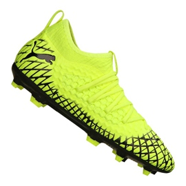 Buty piłkarskie Puma Future 4.3 Netfit Fg / Ag Jr 105693-03 żółte żółty