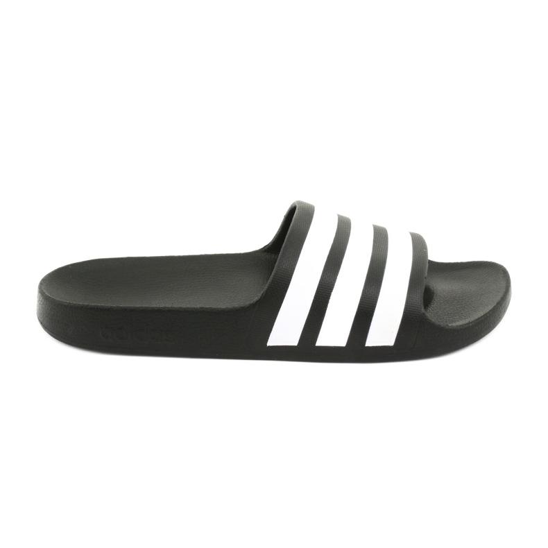 Klapki adidas Adilette Aqua K Jr F35556 białe czarne