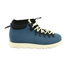 Native Fitzsimmons Citylite Trench Blue Bone White niebieskie