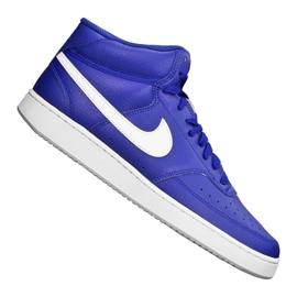 Buty Nike Court Vision Mid M CD5466-400 niebieskie