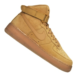 Buty Nike Air Force 1 High LV8 Gs Jr CK0262-700 brązowe