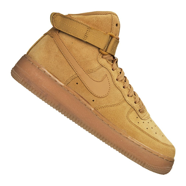 Buty Nike Air Force 1 High LV8 Gs Jr CK0262-700 brązowe