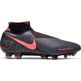 Buty piłkarskie Nike Phantom Vsn Elite Df Fg M AO3262 080 czarne wielokolorowe