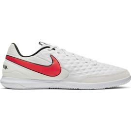 Buty piłkarskie Nike Tiempo Legend 8 Academy Ic AT6099 061 białe biały, czerwony