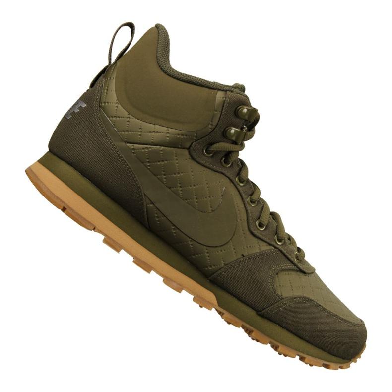 Buty Nike Md Runner Mid Prem M 844864-300 zielone
