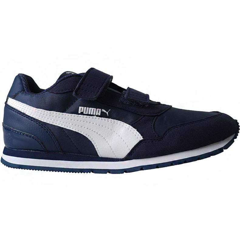 Buty Puma St Runner v2 Nl V Ps Jr 365294 09 granatowe