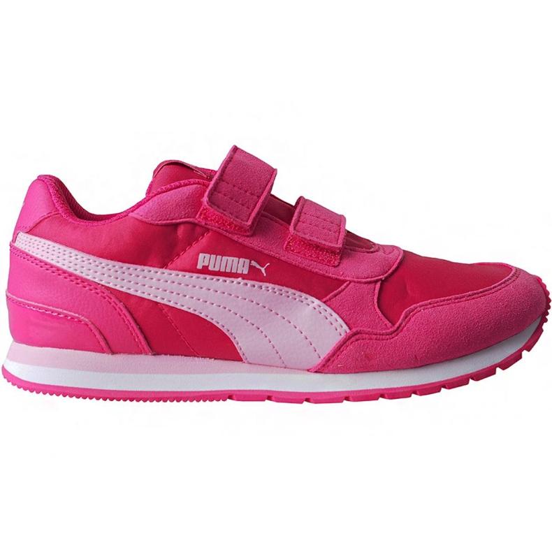 Buty Puma St Runner v2 Nl V Ps Jr 365294 12 różowe