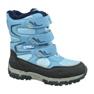 Buty zimowe Kappa Great Tex Jr 260558K-6467 niebieskie