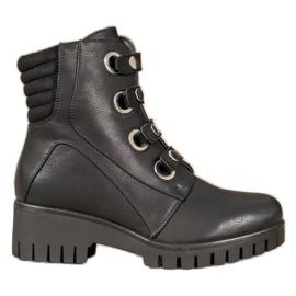 Goodin Czarne Workery Fashion