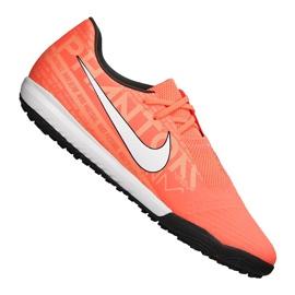 Buty piłkarskie Nike Phantom Vnm Academy Tf M AO0571-810 pomarańczowe