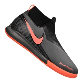 Buty halowe Nike Phantom Vsn Academy Df Ic Jr AO3290-080 szare