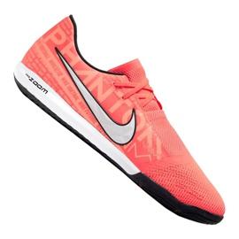Buty piłkarskie Nike Zoom Phantom Vnm Pro Ic M BQ7496-810 pomarańczowe