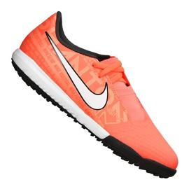 Buty piłkarskie Nike Phantom Vnm Academy Tf Jr AO0377-810 pomarańczowy pomarańczowe