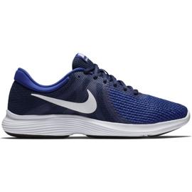 Buty Nike Revolution 4 Eu M AJ3490 414 granatowe