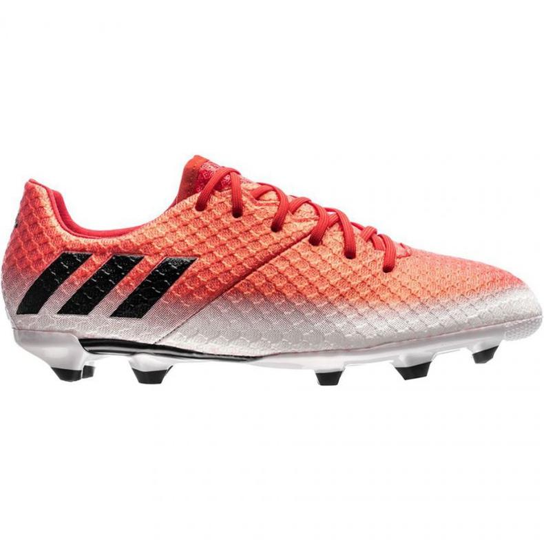 Buty piłkarskie adidas Messi 16.1 Fg Jr BA9142 czerwone wielokolorowe
