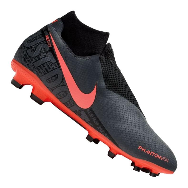 Buty piłkarskie Nike Phantom Vsn Pro Df Fg M AO3266-080 czarne