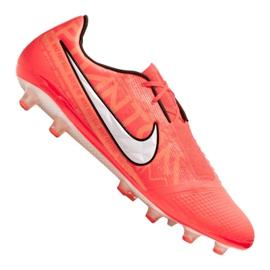 Buty piłkarskie Nike Phantom Vnm Elite AG-Pro Fg M AO0576-810 pomarańczowe pomarańczowy