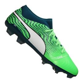 Buty piłkarskie Puma One 18.2 Fg M 104533-04 zielone zielony