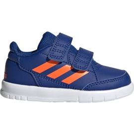 Buty adidas AltaSport Cf I Jr G27108 niebieskie