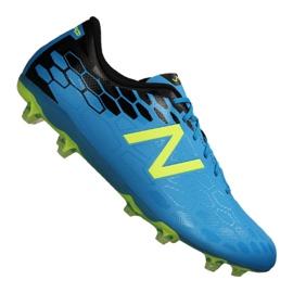Buty piłkarskie New Balance Visaro 2.0 Control Fg M 614500-60_5 niebieskie niebieski