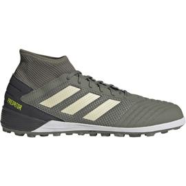Buty piłkarskie adidas Predator 19.3 M Tf EF8210 zielone zielony