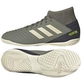 Buty piłkarskie adidas Predator 19.3 In Jr EF8219 szare