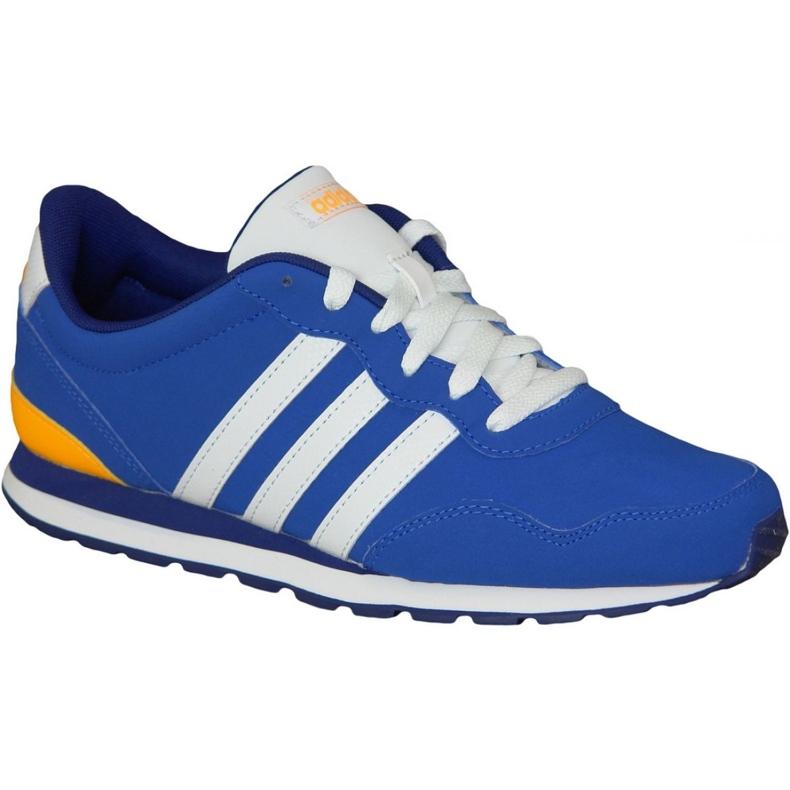 Buty adidas V Jog Kids AW4835 niebieskie