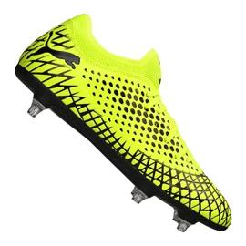 Buty piłkarskie Puma Future 4.4 Sg Fg M 105687-02 żółte żółty