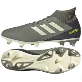 Buty piłkarskie adidas Predator 19.3 Sg M EG2830 szare szare