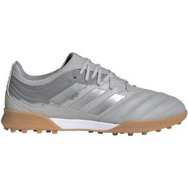 Buty piłkarskie adidas Copa 20.3 Tf M EF8340 szare szary/srebrny