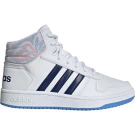 Buty adidas Hoops Mid 2.0 Jr EE8546 białe