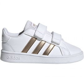 Buty adidas Grand Court I Jr EF0116 białe