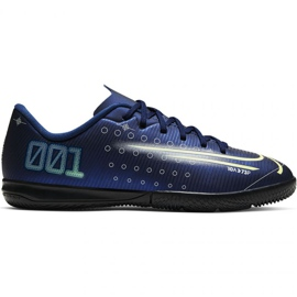 Buty piłkarskie Nike Mercurial Vapor 13 Academy Mds Ic Jr CJ1175 401 granatowe granatowy