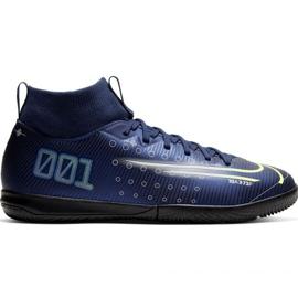 Buty piłkarskie Nike Mercurial Superfly 7 Academy Mds Ic Jr BQ5529 401 granatowe granatowy