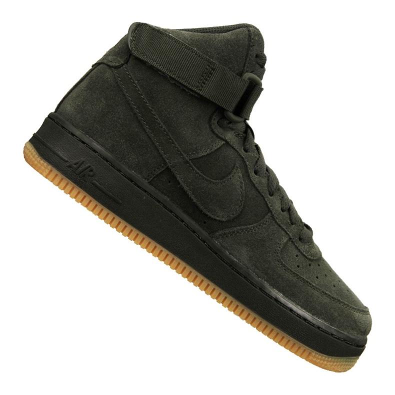 Buty Nike Air Force 1 High Lv 8 Gs Jr 807617-300 zielone