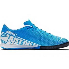 Buty piłkarskie Nike Mercurial Vapor 13 Academy M Ic AT7993 414 niebieski niebieskie