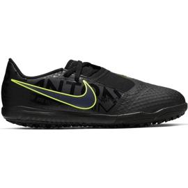 Buty piłkarskie Nike Phantom Venom Academy Tf Jr AO0377 007 czarne czarny, zielony