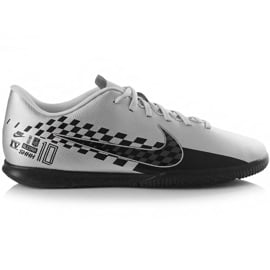 Buty piłkarskie Nike Mercurial Vapor 13 Club Neymar M Ic AT7998 006 szare czarny, szary/srebrny