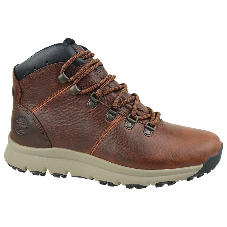 Buty Timberland World Hiker Mid M A213Q brązowe