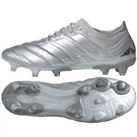 Buty piłkarskie adidas Copa 20.1 Fg M EF8316 srebrny