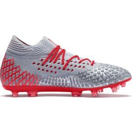 Buty piłkarskie Puma Future 4.1 Netfit Fg Ag M 105579 01 szare