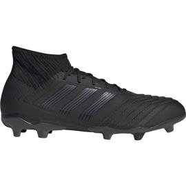 Buty piłkarskie adidas Predator 19.2 Fg M F35603 czarny czarne