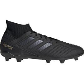 Buty piłkarskie adidas Predator 19.3 Fg M F35594 czarne czarny