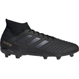 Buty piłkarskie adidas Predator 19.3 Fg M F35594 czarny czarne